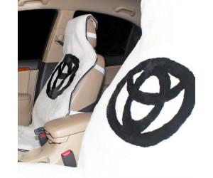 Накидка на сиденье автомобиля меховая А521