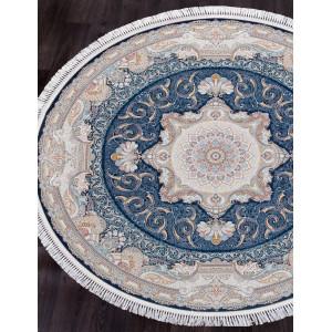 Ковер 144 - DARK BLUE - Круг - коллекция FARSI 1500