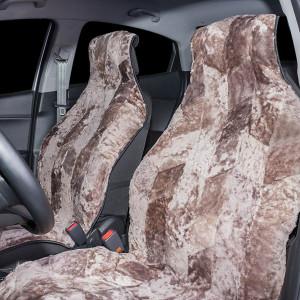 Накидка на сиденье автомобиля меховая А505