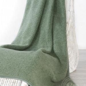 Плед из шерсти Тумблер, зелёный