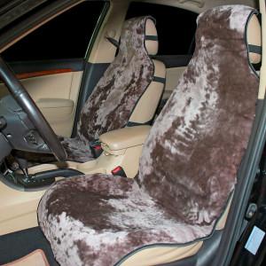 Накидка на сиденье автомобиля меховая А513