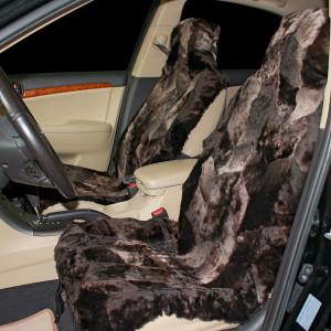 Накидка на сиденье автомобиля меховая А511