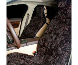 Накидка на сиденье автомобиля меховая А539