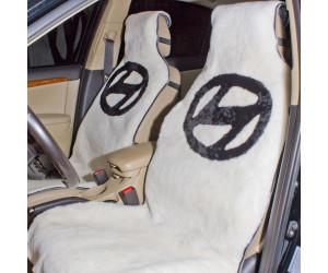 Накидка на сиденье автомобиля меховая А531