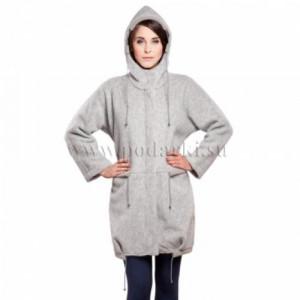 """Пальто женское """"Грейс"""", серый дым"""