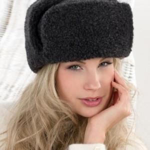 Сибирская шапка SIBERIAN WOOL, черная