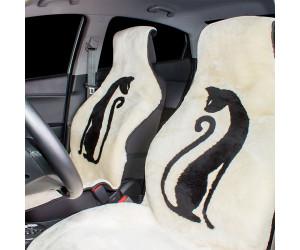 Накидка на сиденье автомобиля меховая А507