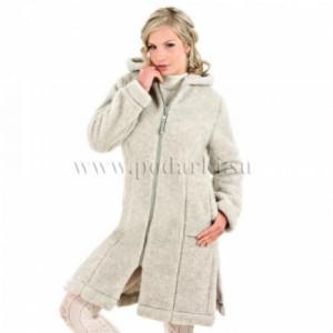 """Пальто женское """"Лина"""", серый"""