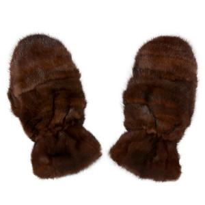 Варежки из норки А4156
