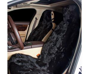 Накидка на сиденье автомобиля меховая А535