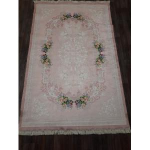 Ковер 11005.101 ADA - Розовый - Прямоугольник - коллекция Decovilla