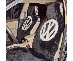 Накидка на сиденье автомобиля меховая А530