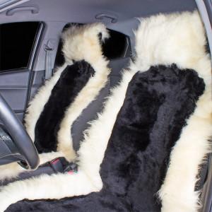 Накидка на сиденье автомобиля меховая А502
