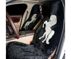 Накидка на сиденье автомобиля меховая А541