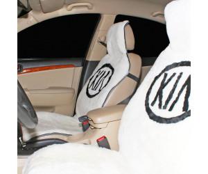Накидка на сиденье автомобиля меховая А519