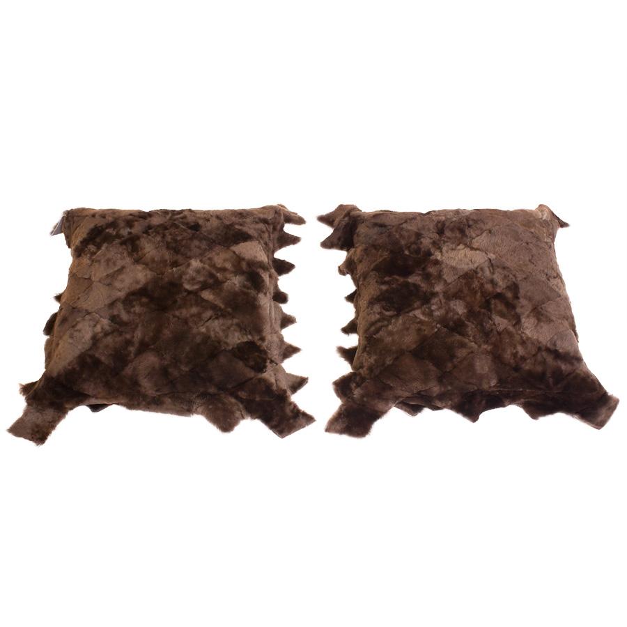 Две подушки односторонние из овчины А 2112