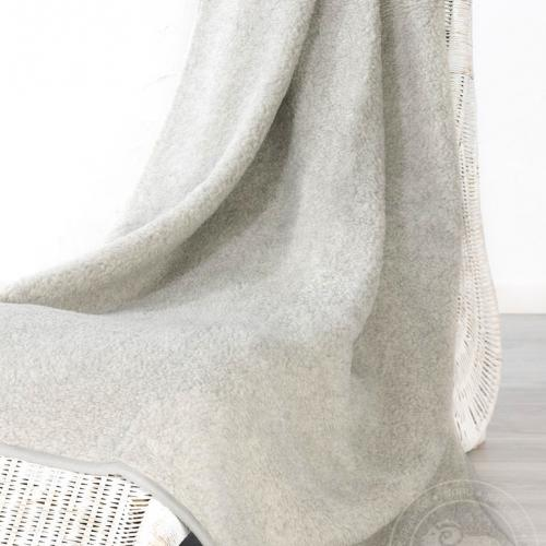 Плед из шерсти Тумблер, серый