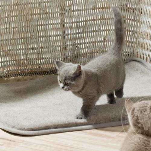 Шерстяная подстилка для кошек и собак