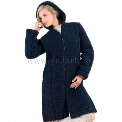 """Пальто женское """"Лина"""", темно-синий"""