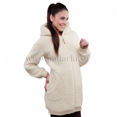 """Пальто женское """"Силена"""", белый"""