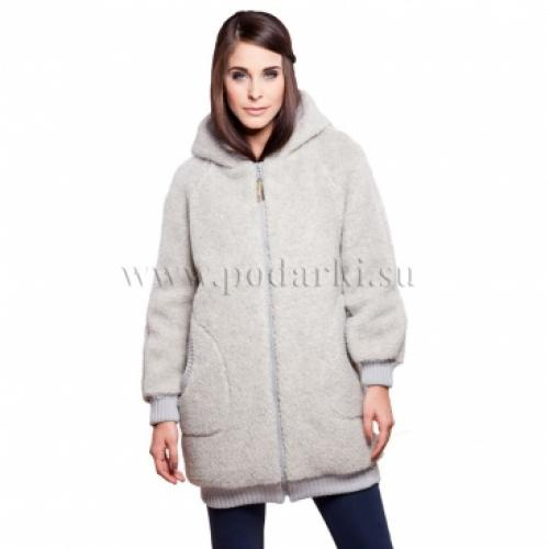 """Пальто женское """"Силена"""", светло-серый"""